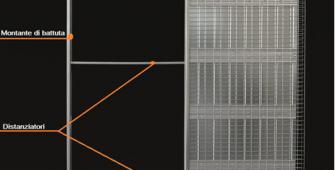 caratteristiche di un controtelaio per porte scorrevoli