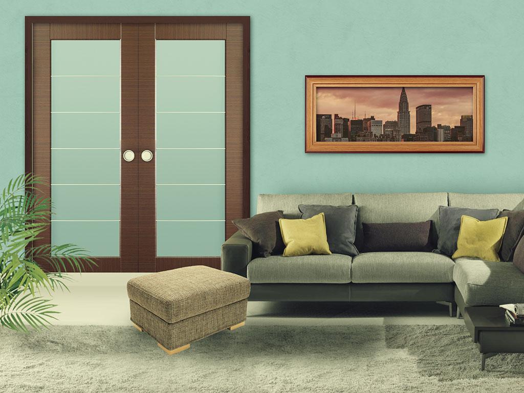 Porta Scorrevole Su Muro Portante controtelai per unire ambienti - controtelai per porte