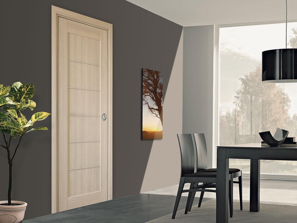 Porta Scorrevole Su Muro Portante controtelai per piccoli spazi - controtelai per porte